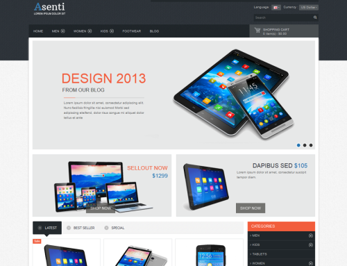 Asenti Responsive Template