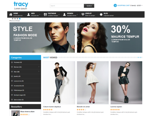 Tracy Responsive Template