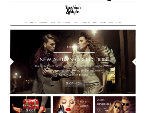Fashion Responsive Template