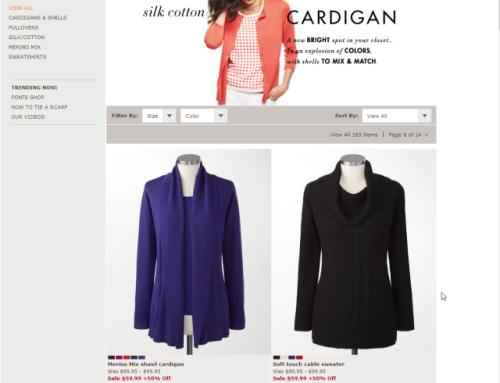 E-Commerce UX im Onlineshop: Größere Produktabbildungen – Teil 1