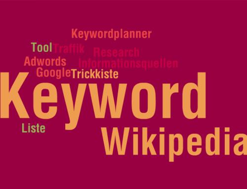 Keyword-Trickkiste mit Wikipedia und Co