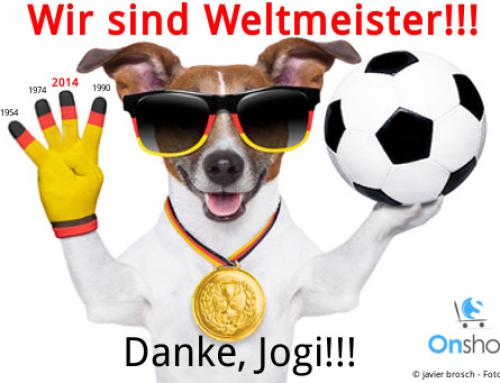 Wir sind Weltmeister!!! Danke, Jogi! Gratulation an die Mannschaft!
